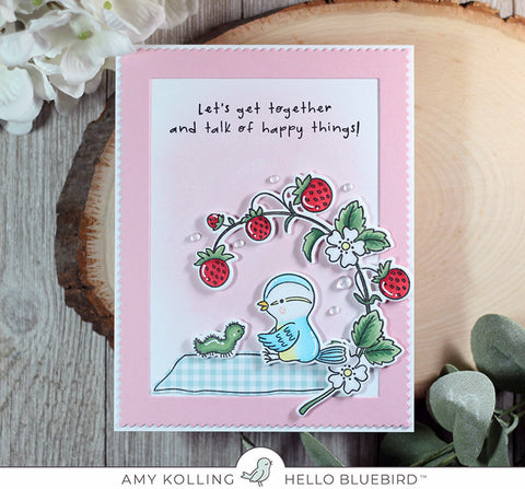 Strawberry Jam Stamp