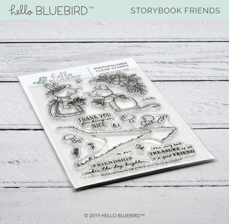 Storybook Friends Stamp