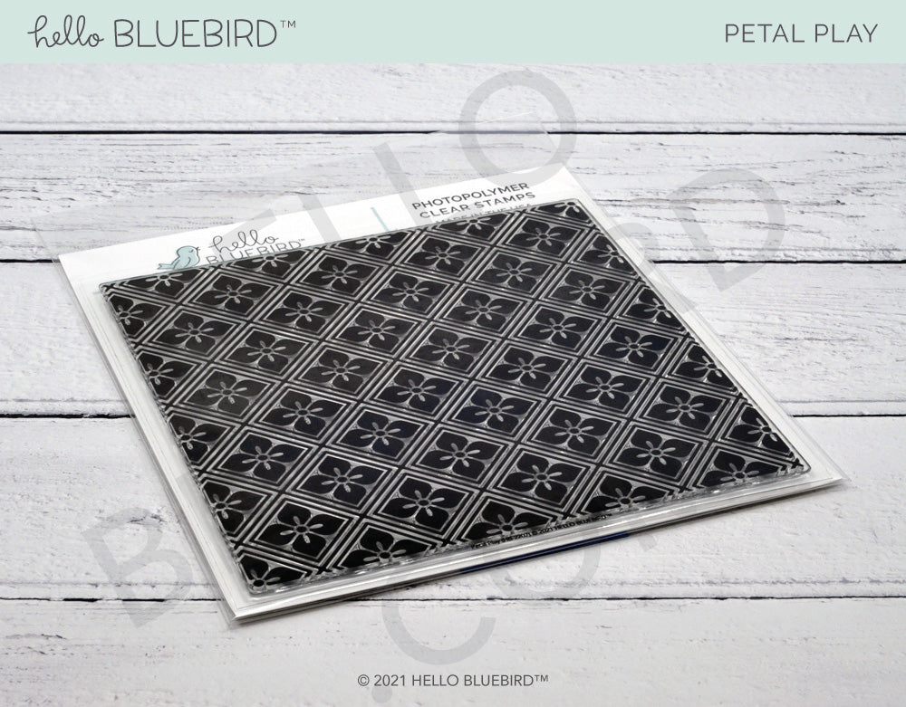 Petal Play Background Stamp