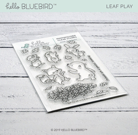 Leaf Play Stamp
