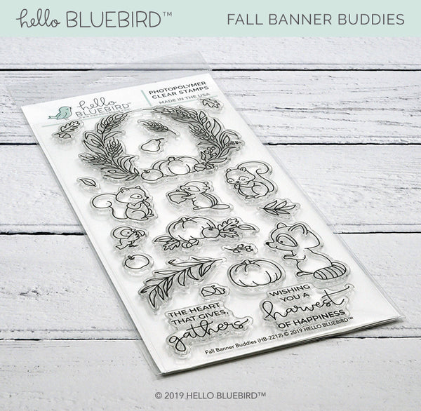 Fall Banner Buddies Stamp