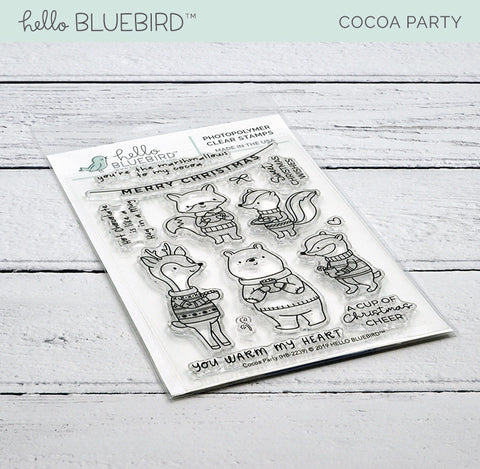 Cocoa Party Stamp