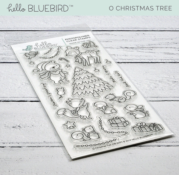 O Christmas Tree Stamp