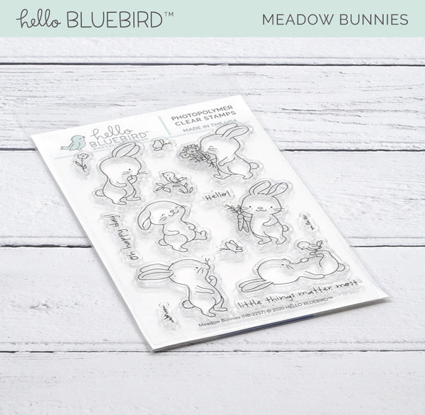 Meadow Bunnies Stamp