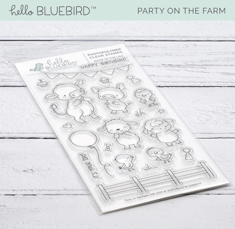 Party on the Farm Stamp