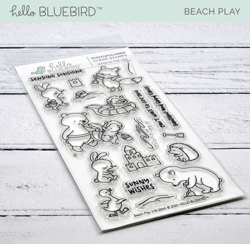 Beach Play Stamp