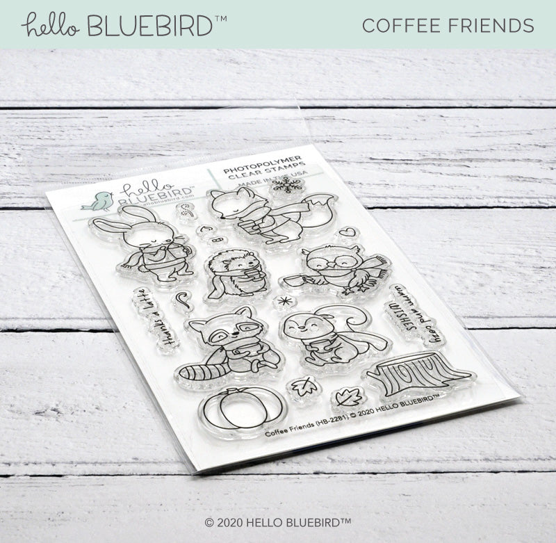 Coffee Friends Stamp