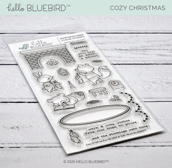 Cozy Christmas Eve Stamp