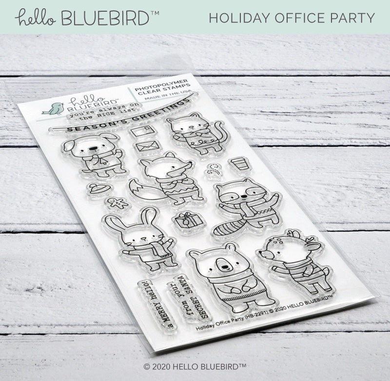 Holiday Office Party Stamp