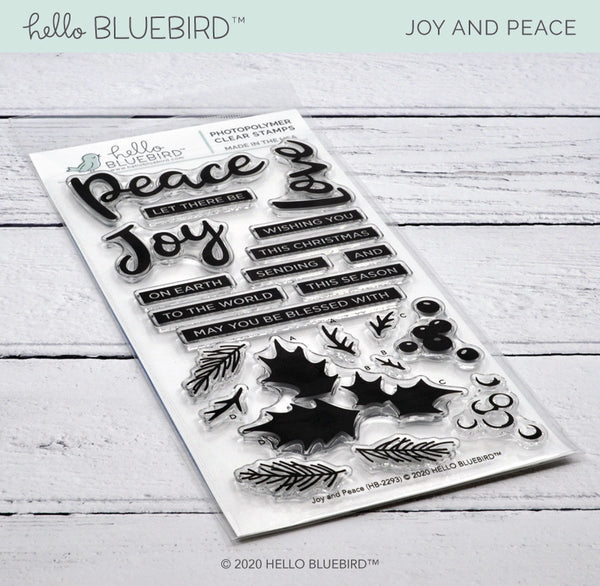 Joy and Peace Stamp