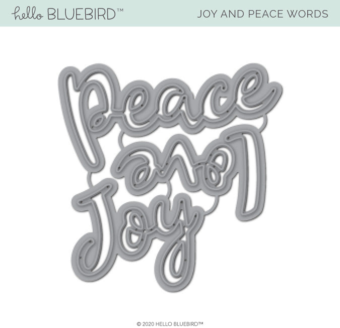 Joy and Peace Words Die