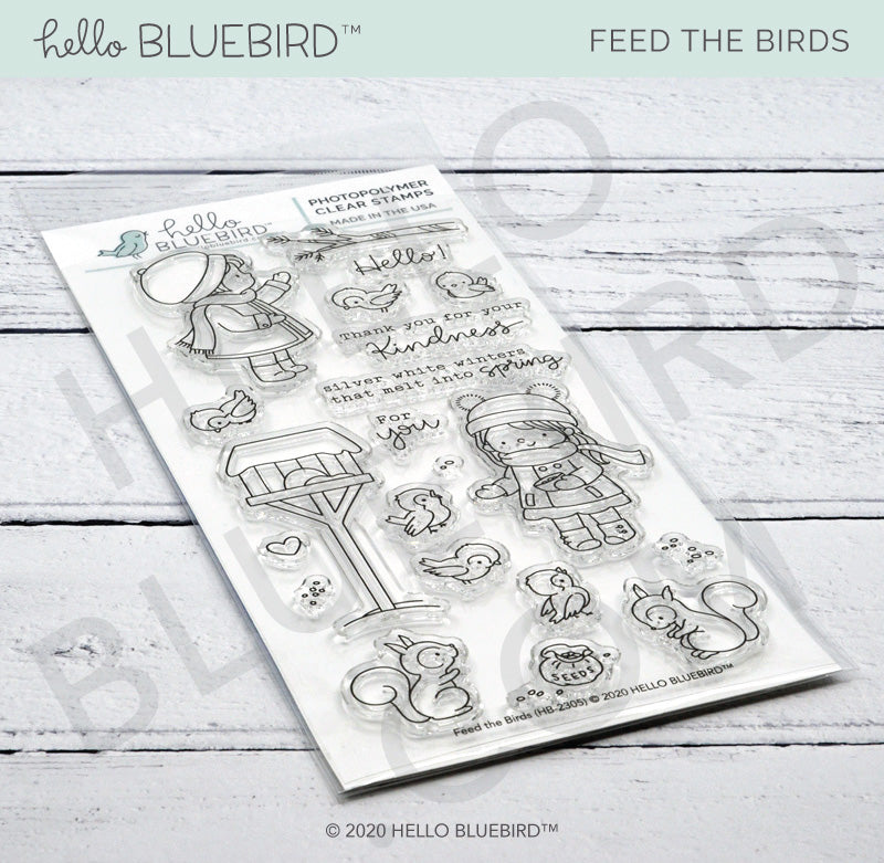 Feed the Birds Stamp