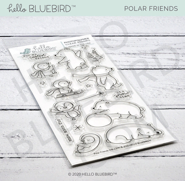 Polar Friends Stamp