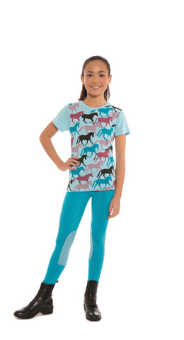 Kerrits Kids Round Up Horse Tee