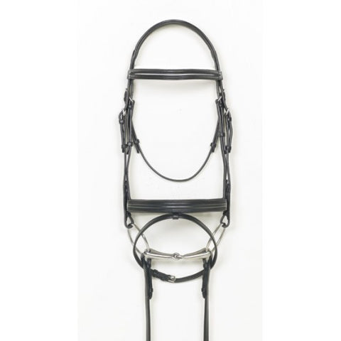 Ovation Alexia Traditional Flash Dressage Bridle