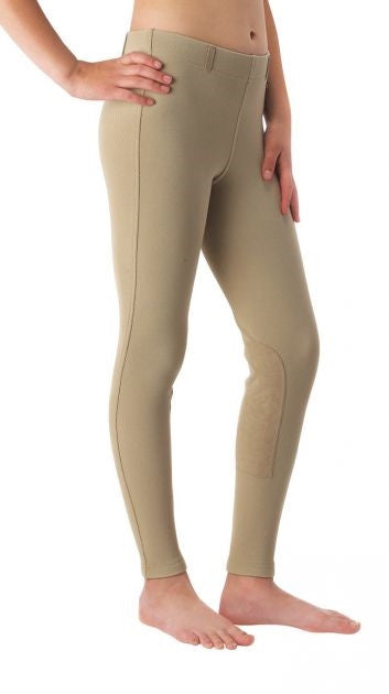 Kerrits Kids Microcord Eco Suede Kneepatch Riding Breech