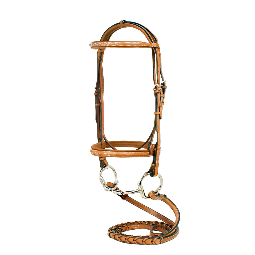 Silverleaf Fancy Padded Bridle