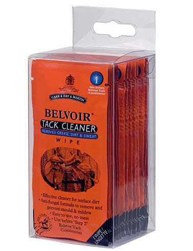 Belvoir Tack Cleaning Wipes - Step 1