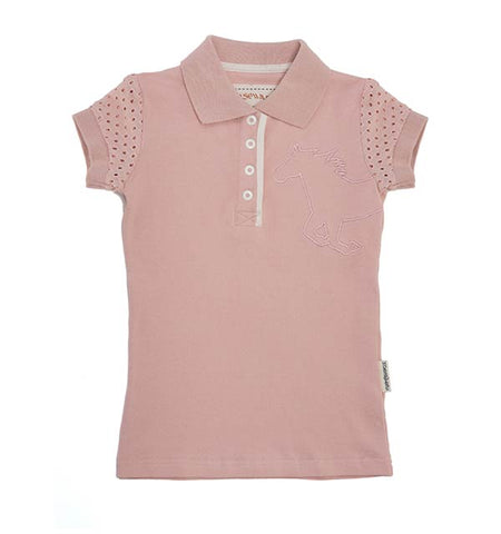 Horseware Girls Pique Polo Shirt
