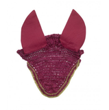 Centaur Embroidered Bling Crochet Ear Bonnet