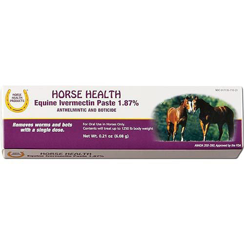 Horse Health Ivermectin Paste Dewormer