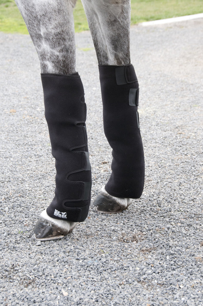 Ice Horse Knee to Ankle Wrap - Pair