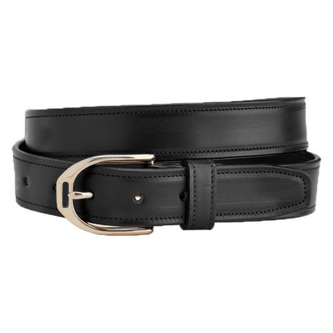 Leather Belt w/ Stirrup Buckle