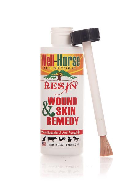 Well-Horse All Natural Resin Wound & Skin Remedy