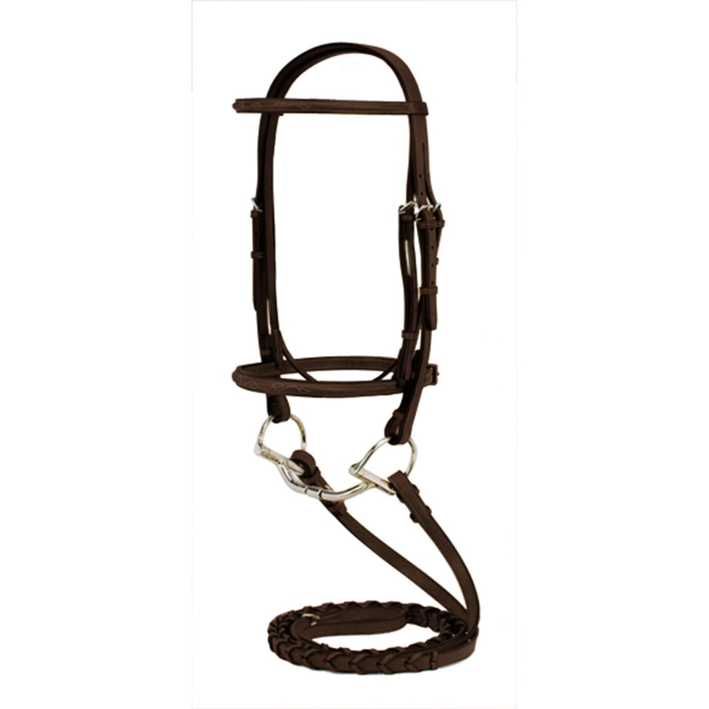 Silverleaf Fancy Raised Bridle