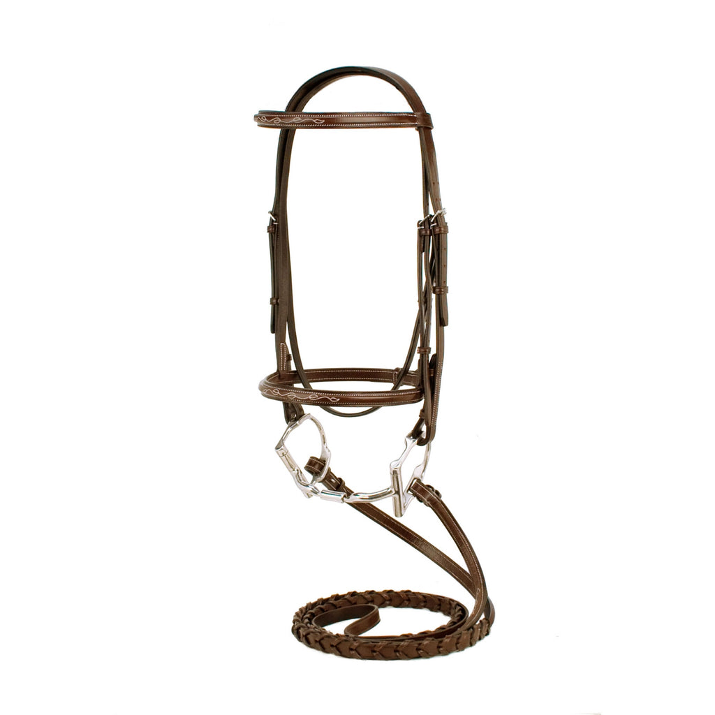 Silverleaf Fancy Square Raised Bridle