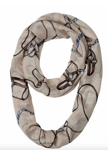 """Lila"" Bridle and Things Infinity Scarf"