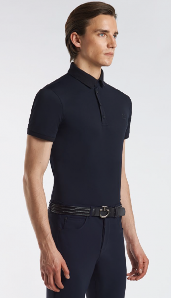 Cavalleria Toscana Men's Piquet Polo