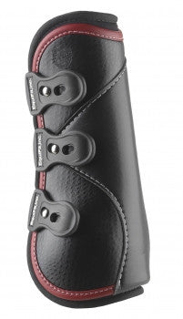 Equifit D-Teq Open Front Boot with Colored Binding