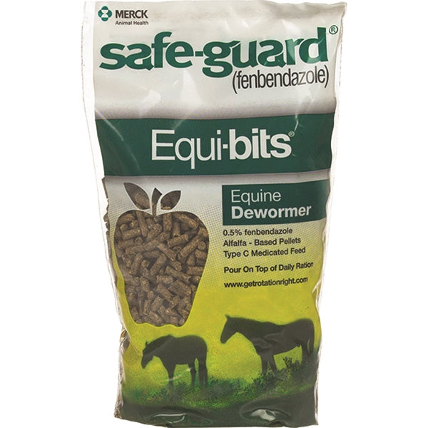 Safe-Guard Equi-Bits Horse Dewormer