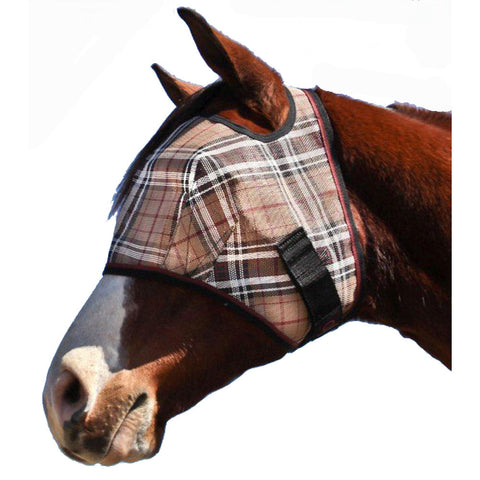 Fly Mask w/ Webbing Trim