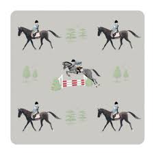 Horse Design Coasters - Set of 4