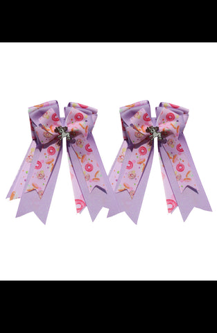Belle & Bow Kids Show Doughnut Bows