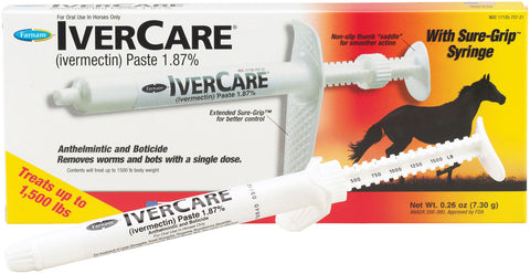 IverCare Equine Dewormer with Sure Grip Syringe