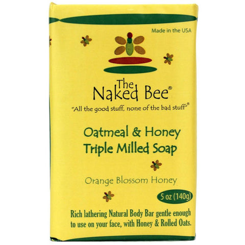Oatmeal & Honey Triple Milled Bar Soap