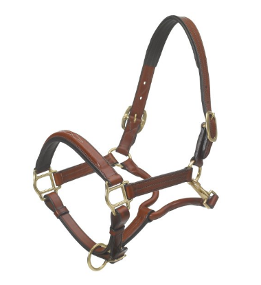 Ovation Elite TS Padded Leather Halter