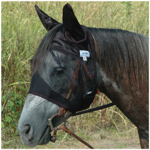 Cashel Quiet Ride Fly Mask w/Ears