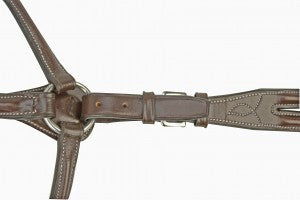 Silverleaf Fancy Raised Breastplate with Running Attachment