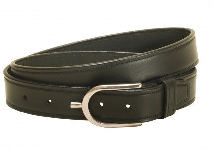 Leather Belt w/ English Spur Buckle