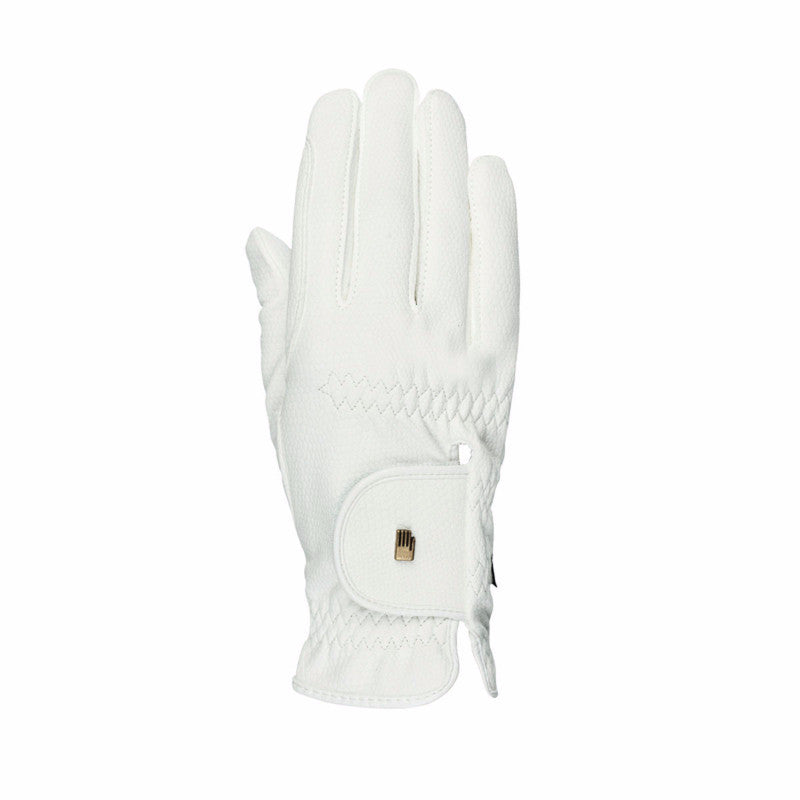 White Roeckl Summer Chester Gloves