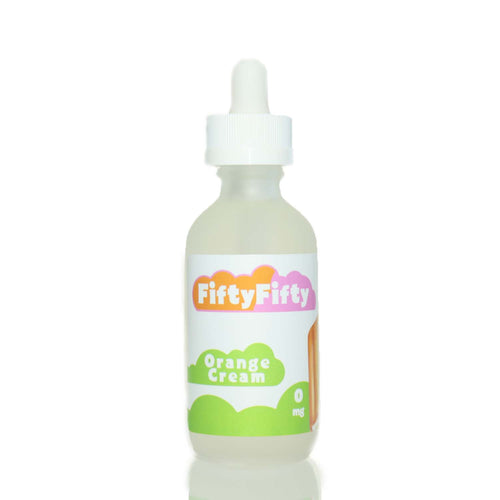 Orange Cream Ejuice by Fifty-Fifty Eliquid 60ml