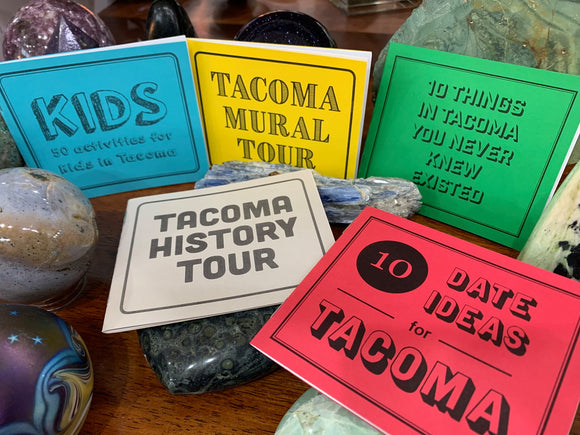 Tacoma Mini Gift Book, Set of 12 - 100% of the proceeds go to St Leo's Food Bank