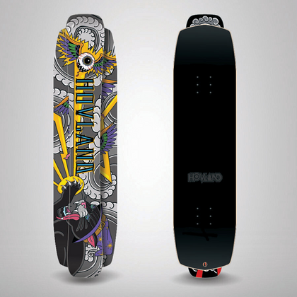 Ram Snowskate 19/20 - Blue & Gold Boardshop