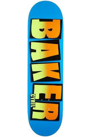 Cyril Jackson Brand Name Noise Deck 19/20 - Blue & Gold Boardshop