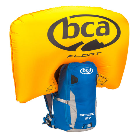 Float 27 Speed Airbag - Blue & Gold Boardshop