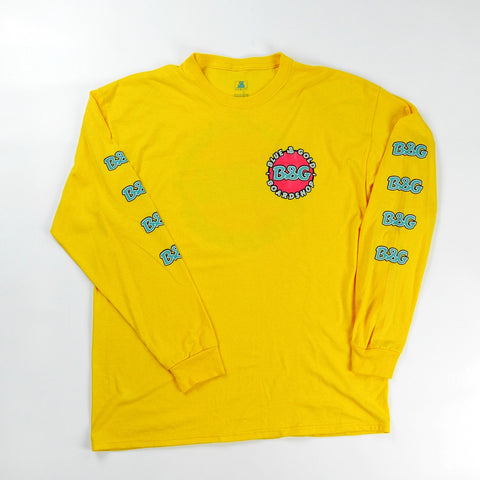 B&G L/S Tee - Blue & Gold Boardshop